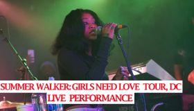 Summer Walker Girls Need Love Tour, DC