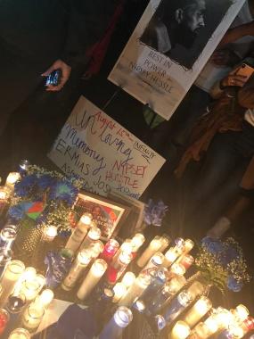 Nipsey Hussle Vigil in DC
