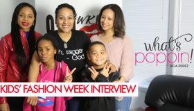 What's Poppin': Kids' Fashion Week
