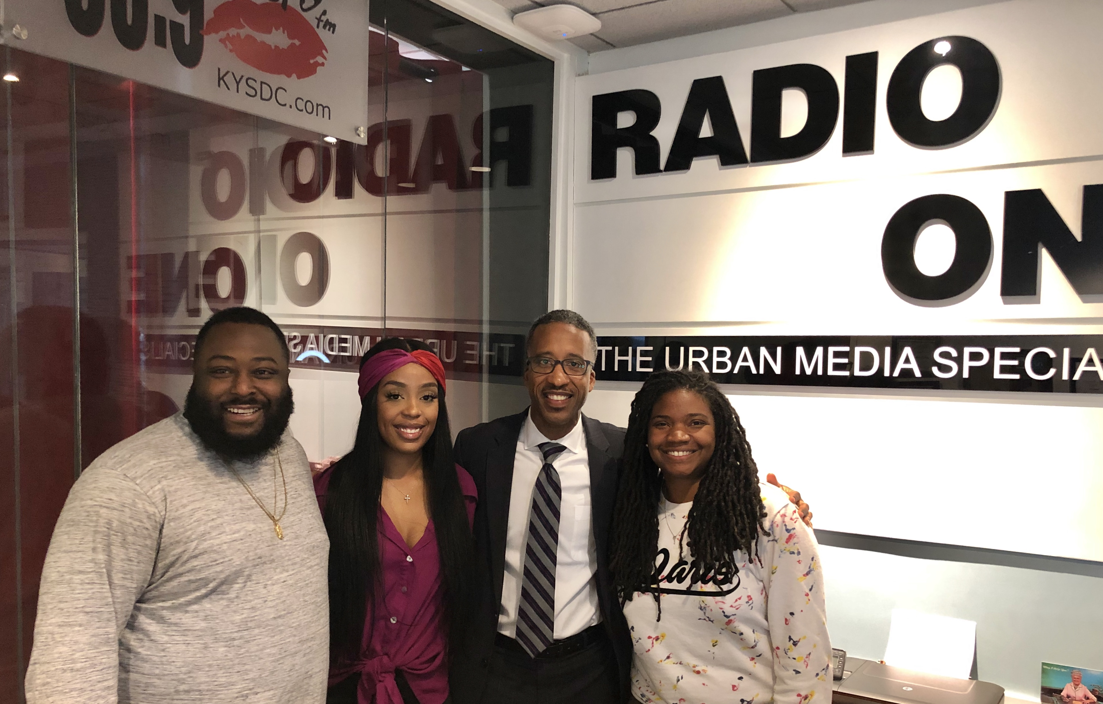 Kenyon McDuffie joins Angie Ange in the Morning