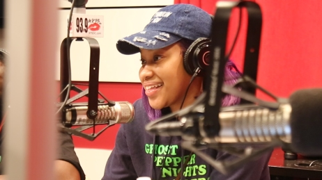 "Jaimesha Thomas ""ThatGirlJayCole"" joins Angie Ange in the Morning"
