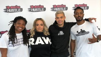 TV One Bobby Debarge Story Cast with The Morning Hustle