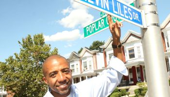 Kevin Liles Street Renaming Ceremony And Block Party In Baltimore