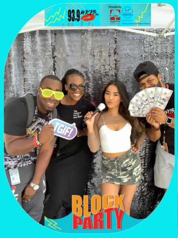 The KYS Block Party Photo Booth