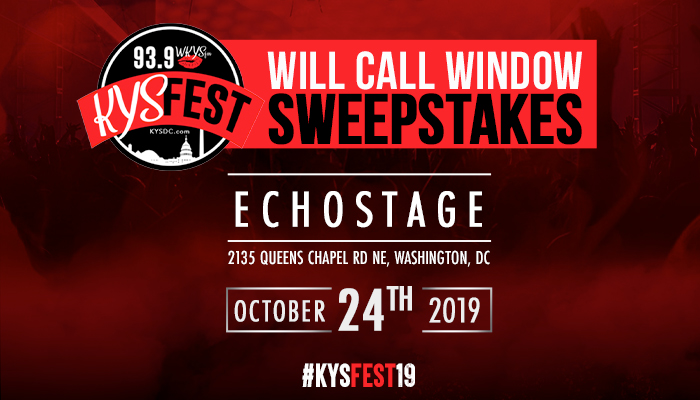KYS Fest Will Call Window Register To Win