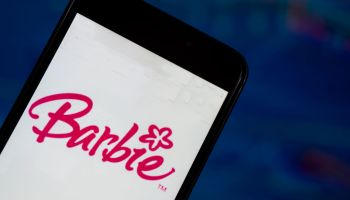 The Barbie application seen displayed on a smart phone with