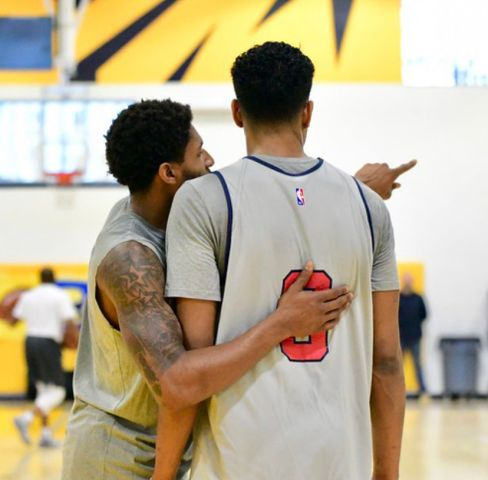 Wizards Surprise Practice At Ballou High School