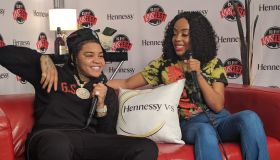 Artists Inside The Hennessy Room At The 2nd Annual KYS Fest
