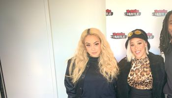 Doja Cat with Lore'l and On Air Jordan