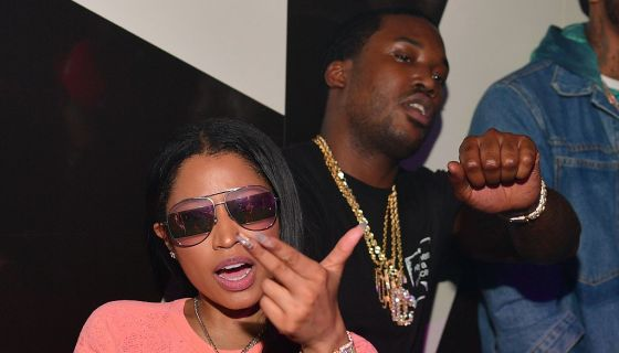 Meek Mill, Nicki Minaj & Her Husband Reportedly Involved In Argument In Hollywood [VIDEO]