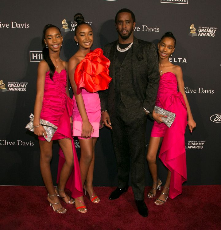 D'Lila Star Combs, Chance Combs, Sean Combs and Jessie James Combs