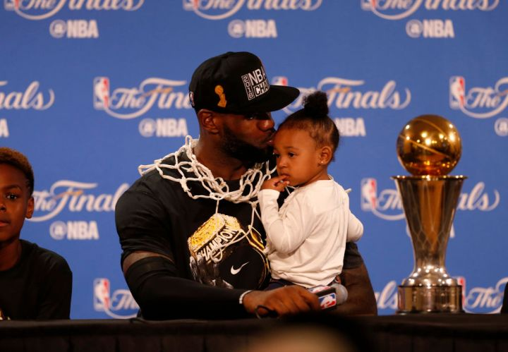 LeBron James & Zhuri Nova James
