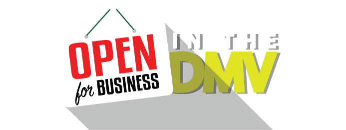 Open For Business in the DMV Logo - WKYS