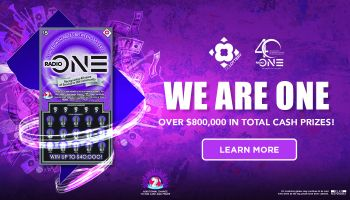 DC Lottery We Are One Home Page