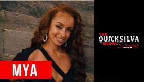 Mya Joins the Quicksilva Show with Dominique Da Diva