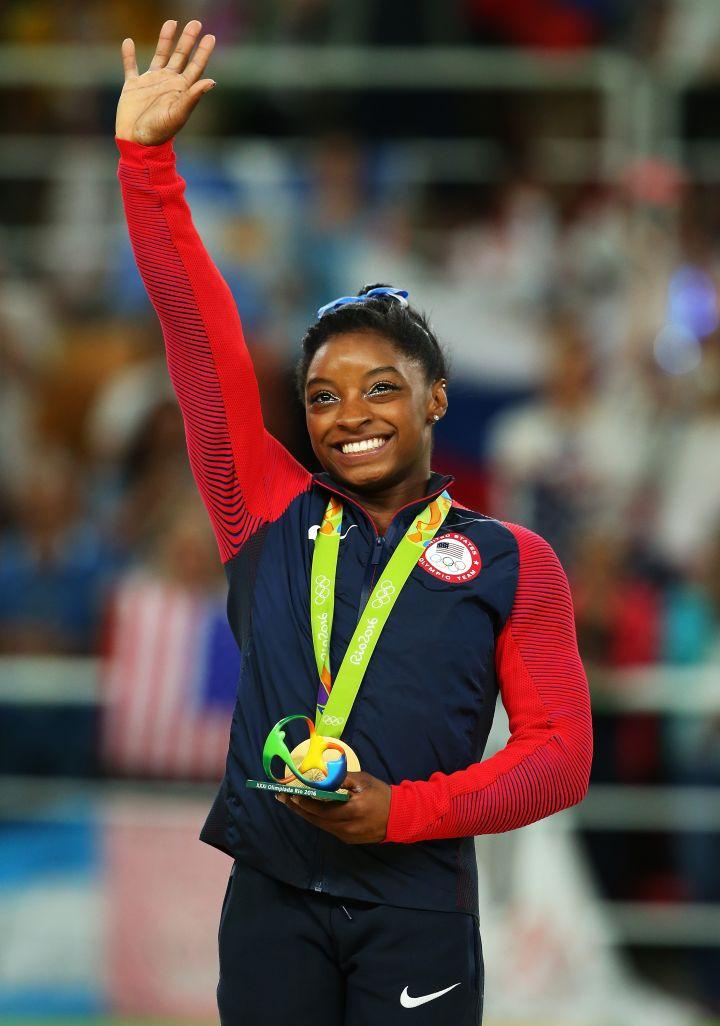 Best Sportswoman Of The Year: Simone Biles