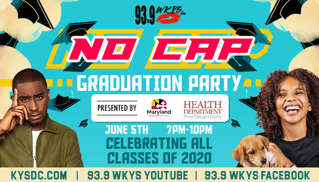KYS No Cap Graduation June 5th Presented by PG County Health Dept