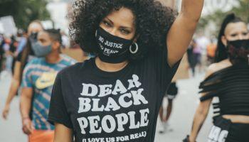 Black Women Protesting