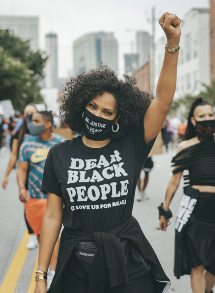 """""""Dear Black People (I Love Us For Real)"""" T-Shirt"""