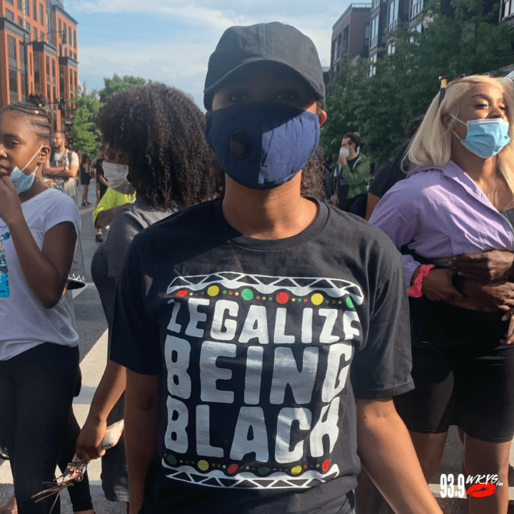 """Legalize Being Black"" T-Shirt"