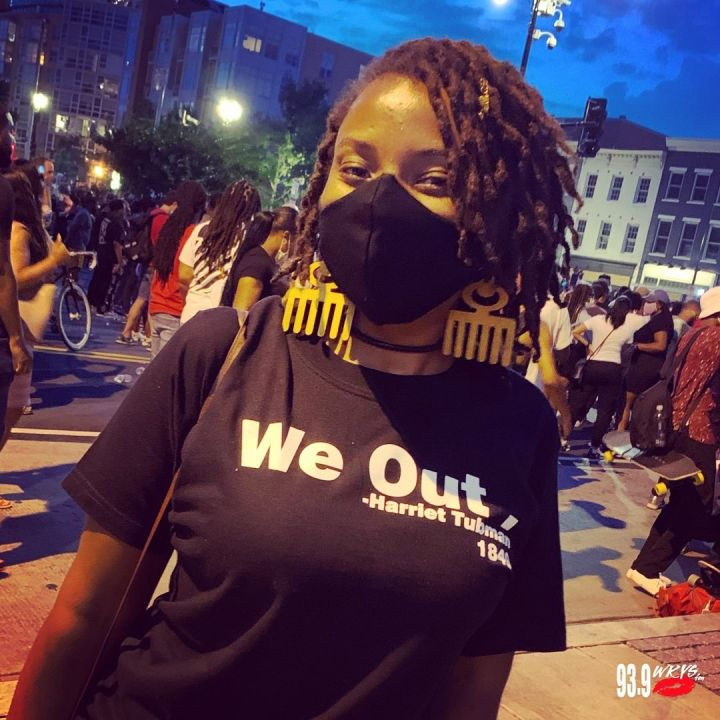 """We Out - Harriet Tubman"" T-Shirt"
