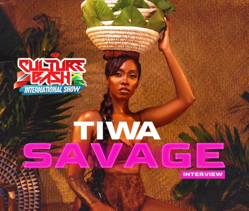 Tiwa Savage Interview