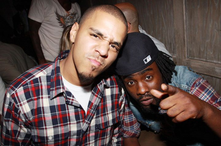 Wale & J. Cole at 2010 Grey Goose Entertainment & BET's 'Rising Icons' Series
