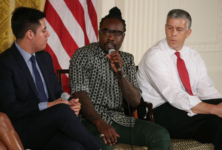 Michelle Obama Hosts 2015 Beating The Odds Summit At White House