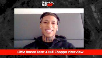 NLE Choppa & Little Bacon Bear Interview