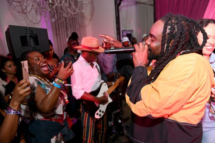 Wale Performs at Late Night Jam Session: Spotify House Of Are & Be Jam Session