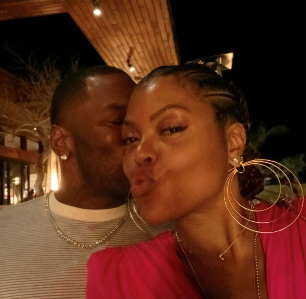 Taraji and Kelvin in Los Cabos